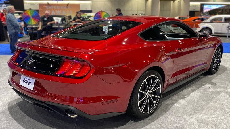 2020 Ford Mustang Ecoboost 2020 San Diego Auto Show
