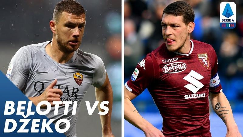 Belotti vs Džeko Player vs Player Serie A