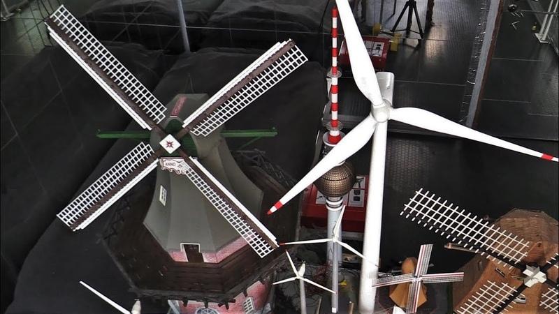 Моя коллекция мельниц и ветряков разных масштабов в работе FALLER VOLLMER AMATI KIBRI POLA G HERPA