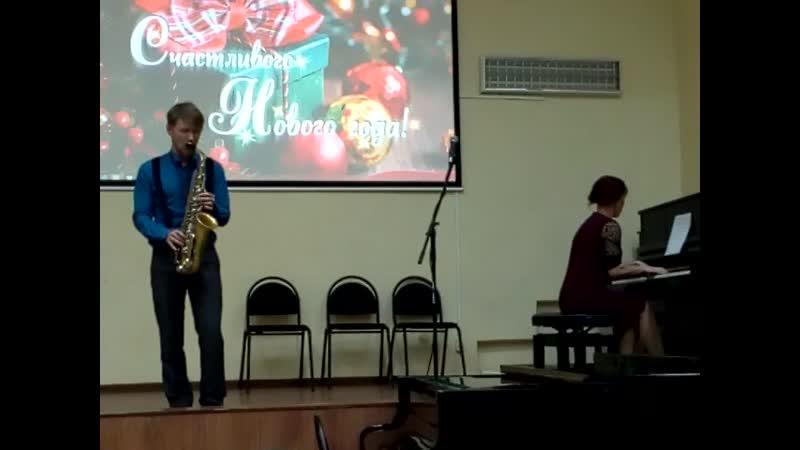 Концерт в Вытегорской школе искусств Фрагмент 9