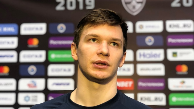 Кирилл Воронин нападающий ХК Адмирал подвел итоги матча