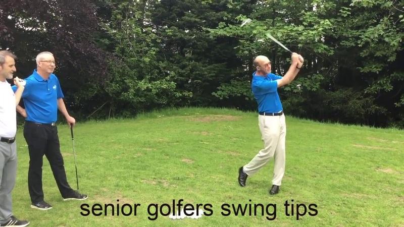 Senior golfers swing tips