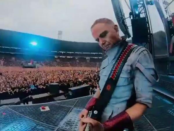 Rammstein Sehnsucht Koning Boudewijn Stadium Brussels Belgium 10 07 2019 Paul's camera