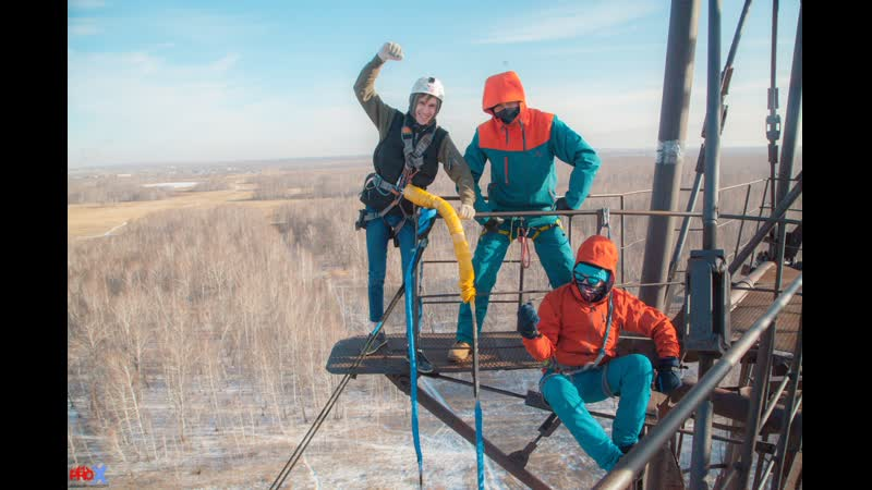 Andrey Shule. прыжок FreeFallProX команда ProX74 объект AT53 Chelyabinsk 2019 1 jump RopeJumping