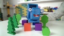 Поиграем в Синий Трактор - История о том как однажды у Трактора украли колёса