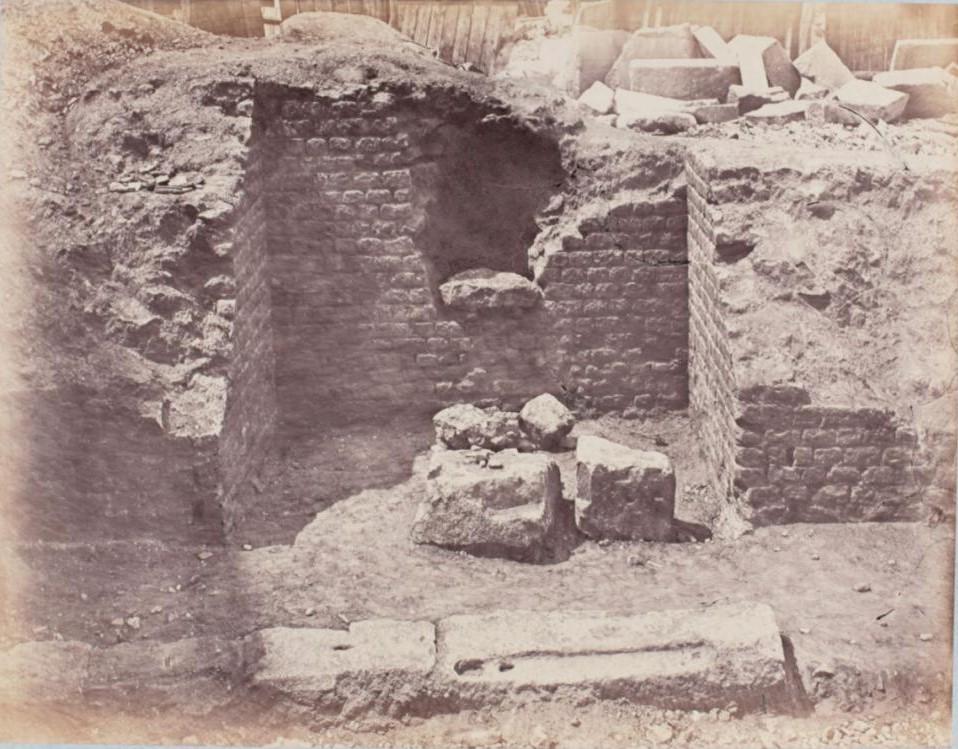Раскопки Арены Лютеции в 1870-1993 годах