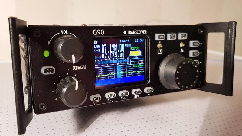 Xiegu G90 SDR трансивер из Китая Обзор