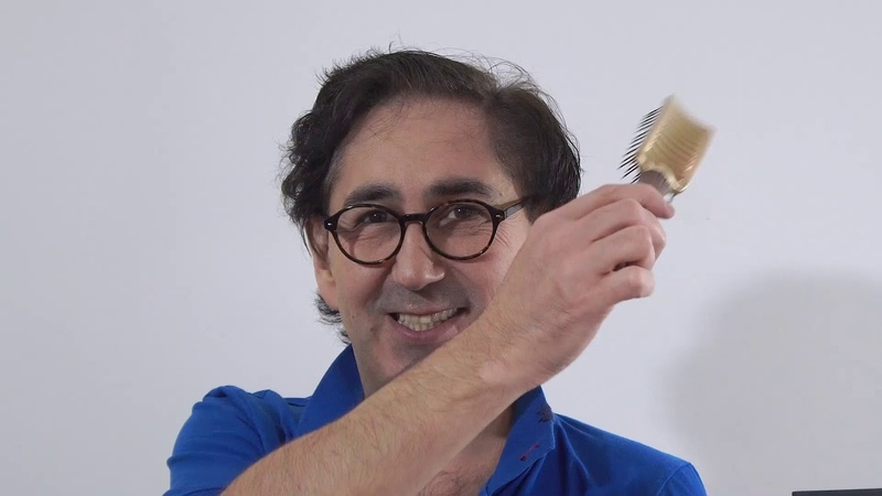 Как создать объем волос Если не стоит и как поставить корень волос Укладка волос.