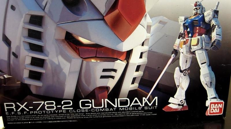 Real Grade RX-78-2 Gundam: Part 1