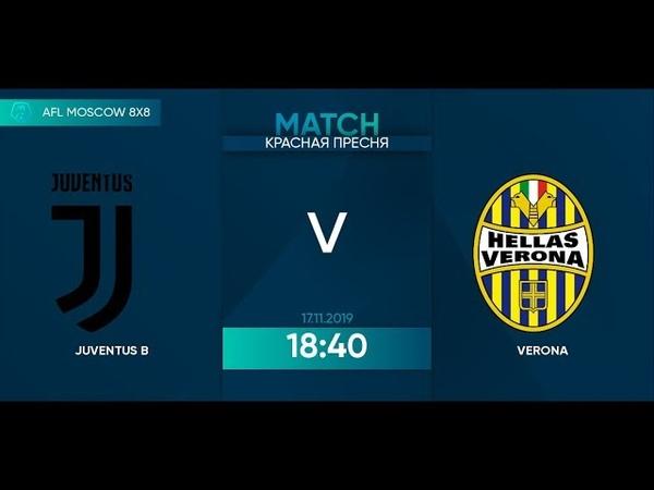 AFL19. Italy. Serie D. Day 20. Juventus B - Verona