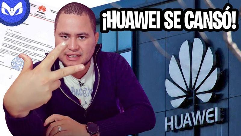 HUAWEI ROMPE EL SILENCIO