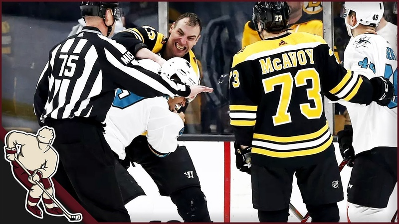 NHL Fights After Hits [Part 2]