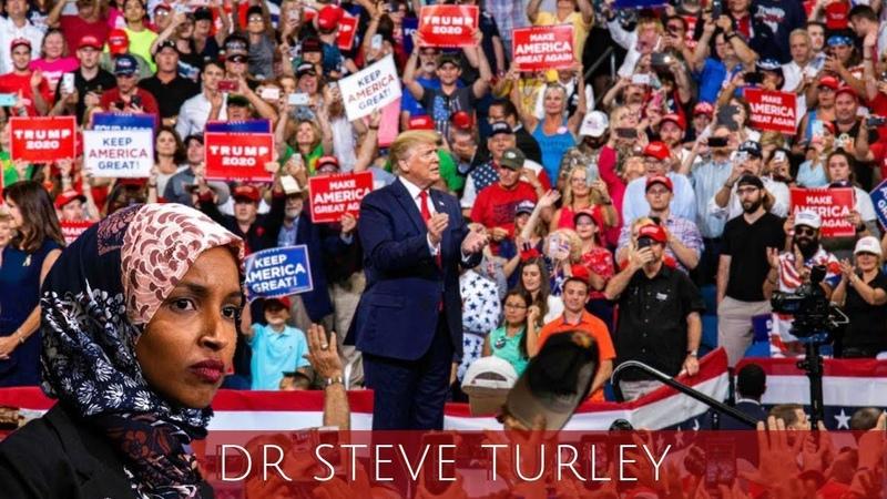 """(6561) Trump DESTROYS Ilhan Omar as an """"America Hating Socialist"""" - YouTube"""