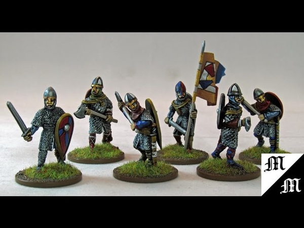 How to Paint Black Tree Designs 28mm Armoured Normans Pt.2