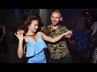Ipanema Party. Maxim Chistokletov and Julia Ivanova. Zouk improvisation.