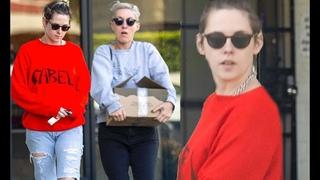 Kristen Stewart and girlfriend Dylan Meyer stock up at a wine shop