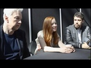 NYCC 2019 SERVANT Roundtable Interview w Lauren Ambrose Toby Kebbell Tony Basgallop