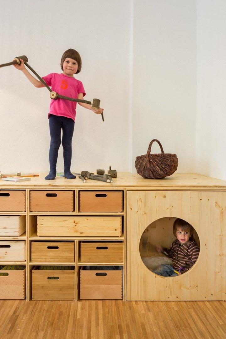 Необычный детский сад Baukind в Берлине