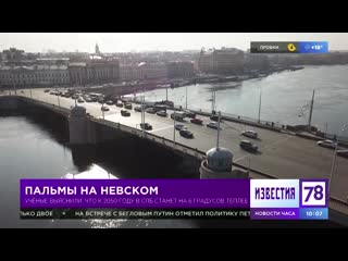Изменения климата в Петербурге