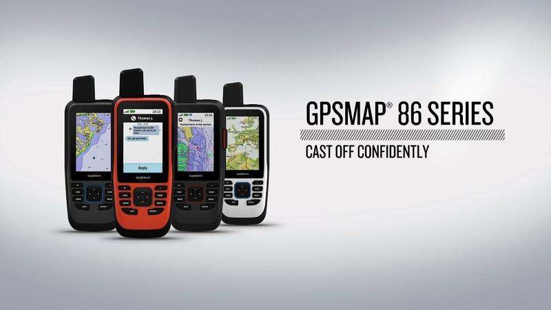 GPSMAP® 86 Series FB Морской портативный навигатор с предзагруженной базовой картой мира