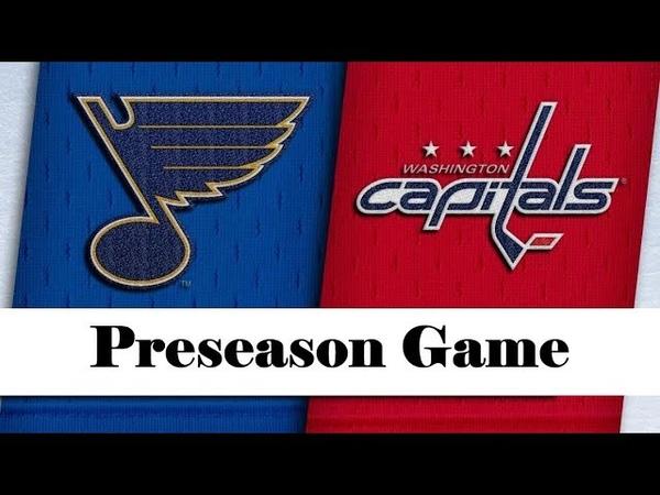 St. Louis Blues vs Washington Capitals | Sep.18, 2019 | Preseason | Game Highlights | Обзор матча