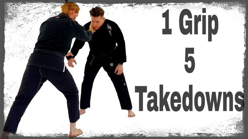 1 Grip 5 Takedown Options Leviathan Brazilian Jiu-Jitsu Academy Cleveland, TN Martial Arts