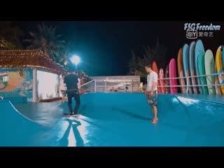 [Summer Surf Shop] Эпизод 1 Wang Yibo cut (рус.саб)