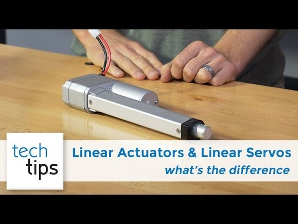 Comparing Linear Servos Linear Actuators - with Kyle and Jason