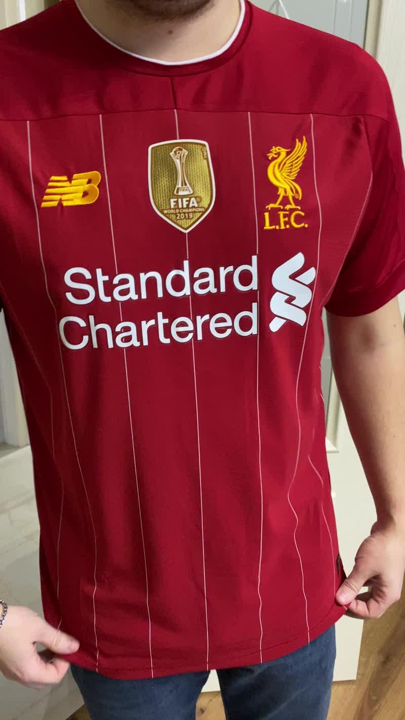 Обзор домашней футболки Ливерпуля (как сидит)