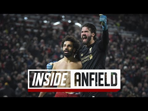 Inside Anfield Liverpool 2 0 Manchester United Incredible scenes after Salah's late strike