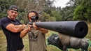 Воздушка с глушителем для охоты на оленя или бизона Разрушительное ранчо Перевод Zёбры