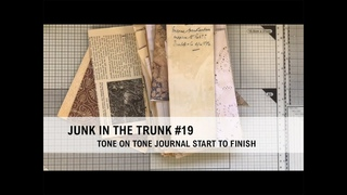 *JUNK IN THE TRUNK* #19 (part 3) Altered correspondence envelopes