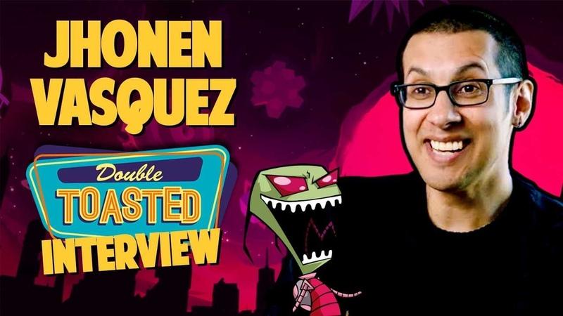 INVADER ZIM CREATOR JHONEN VASQUEZ INTERVIEW Double Toasted