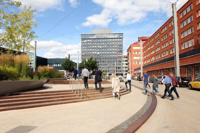 Funkia Landskapsarkitektur / The Square of Jan Stenbeck.