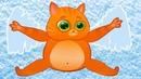 КОТИК БУБУ Снежный АНГЕЛ 119 Наступила зима. Кид с котенком играют в снежки. Мультик про котов
