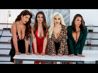 Office 4-Play: Latina Edition - Bridgette B, Katana Kombat, Luna Star, Victoria June [Trailer]