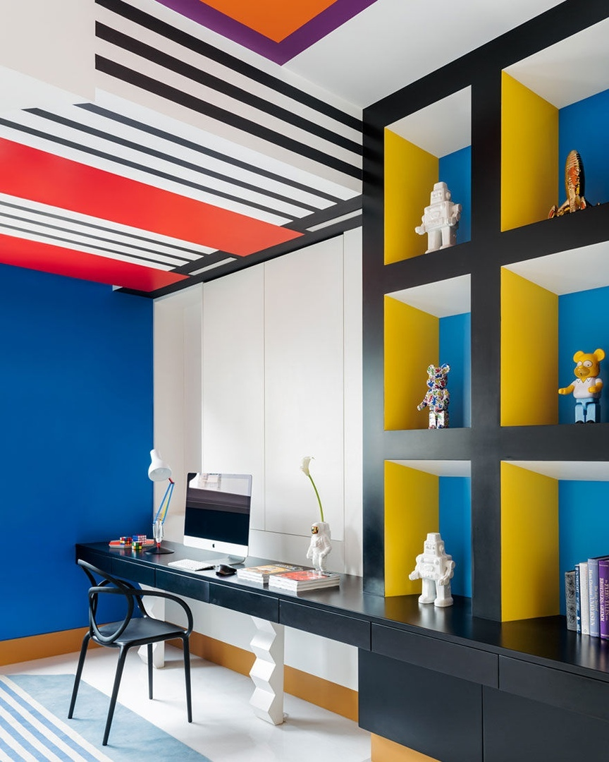 Джаннат Васи: квартира в Мумбае в стилистике поп-арта || 02