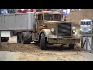 RC TRUCKS STUCKING -- HEAVY HAULAGE RC TRUCK -- RC SCANIA SHOW TRUCKS -- MODELL HOBBY SPIEL+RC models