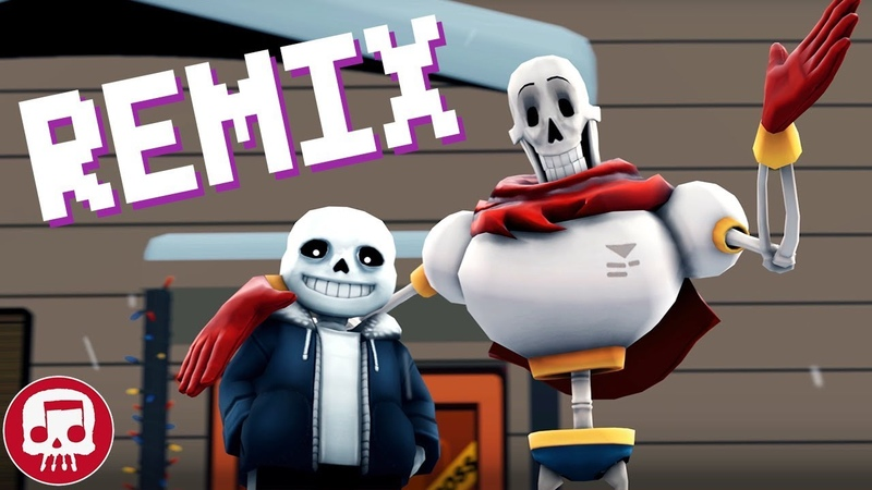 Sans and Papyrus Song REMIX by JT Music feat DHeusta To The Bone