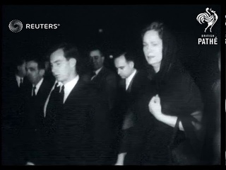 SWITZERLAND / RELIGION: The boy of the Aga Khan is escorted to Egypt for burial (1957)