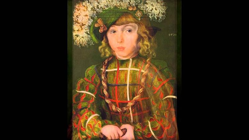 Stadtpfeiffer Ludwig Senfl set to Renaissance paintings
