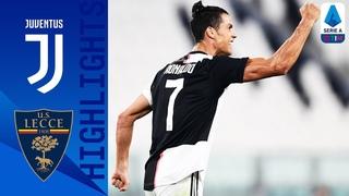 Ювентус 4-1 Лечче Обзор матча чемпионата Италии Серия А