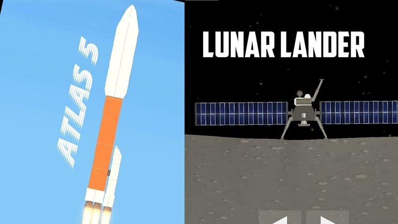 Spaceflight Simulator Lunar Lander / Lądownik Księżycowy
