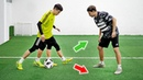 3 КРЕАТИВНЫХ ФИНТА / Новые способы ЛЕГКО обыграть защитника / Обучение футбол