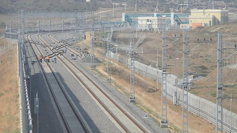 КЖД. Керченская ж-д паромная переправа.Станция Южная. (проездом).