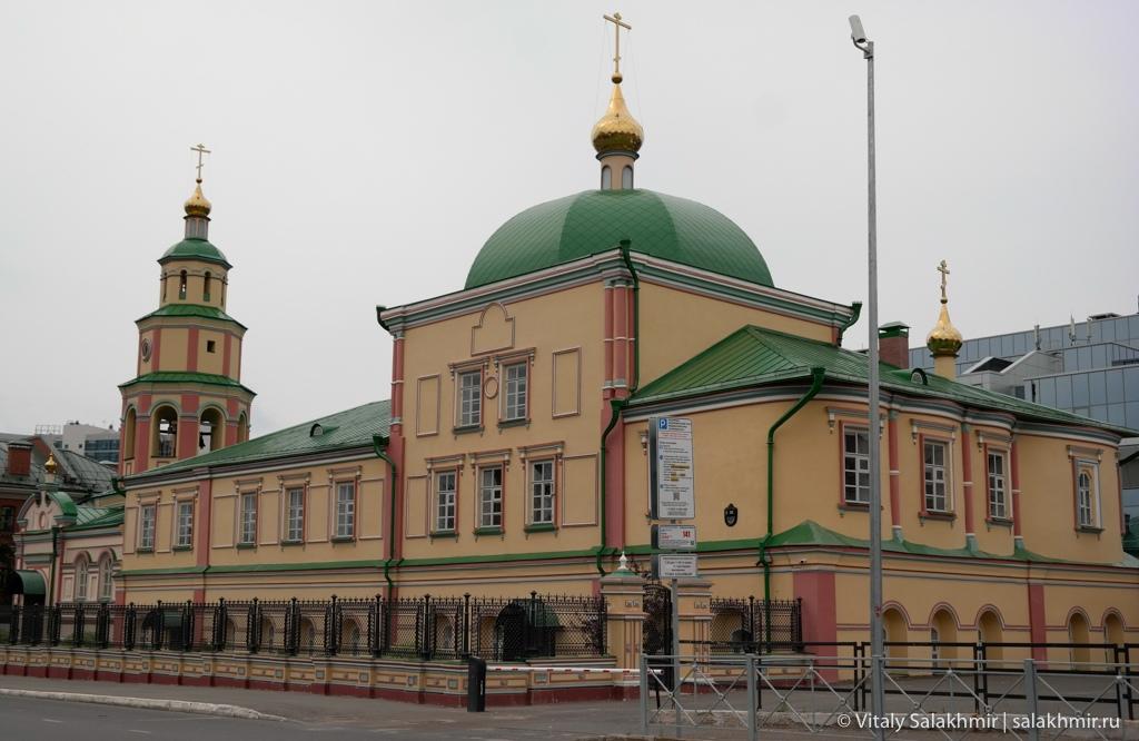 Церковь на улице Петербургская, Казань 2020