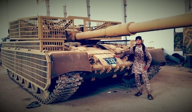 Танк в «Мастерской» и боевик ИГ