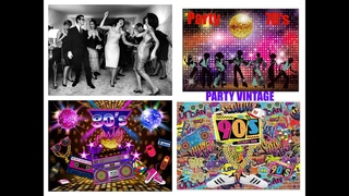 PARTY VINTAGE 70's 80's 90's Fiesta, fête, партия, Festa