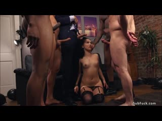 Husband with four men fucking wife / Kristina Rose