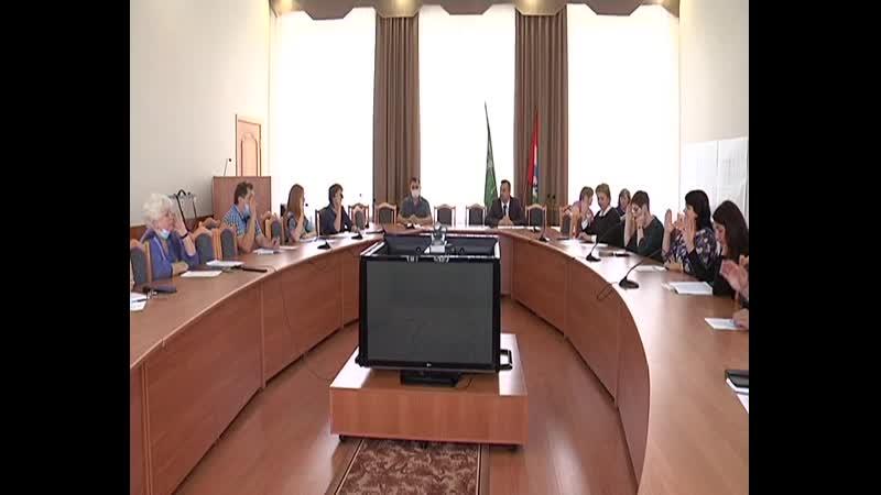 Первая сессия седьмого созыва Совета депутатов города Болотное